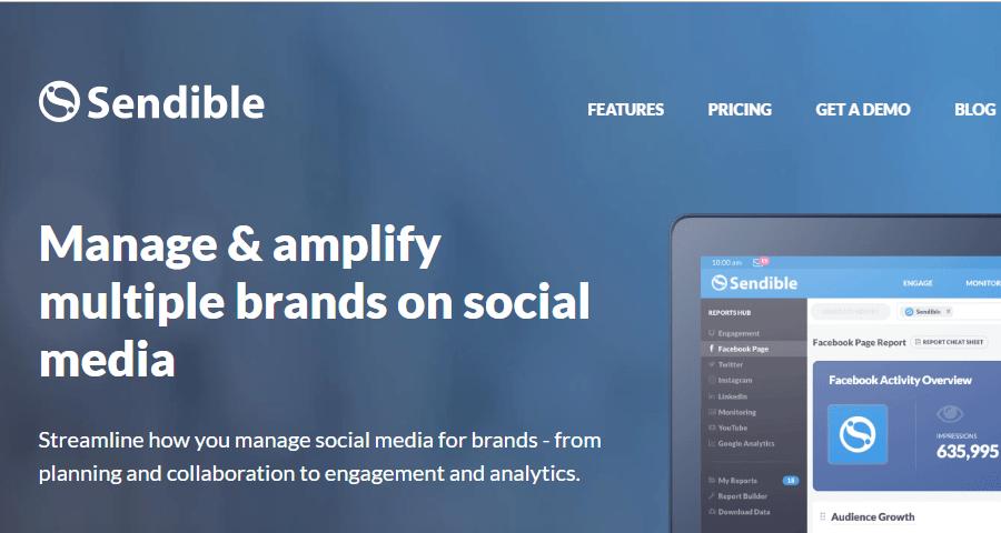 Mejores herramientas de social media que deberias utilizar sendible
